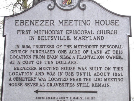 The First Methodist Episcopal Church in Beltsville By Ted Ladd