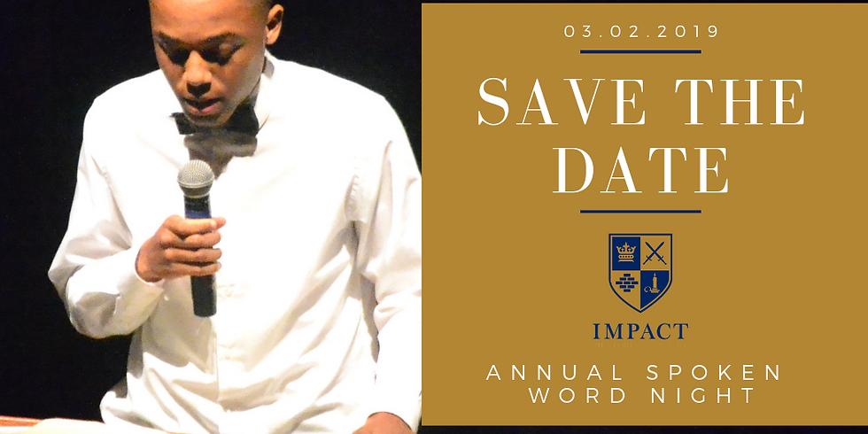 Impact Mentoring Academy Spoken Word Night 2019