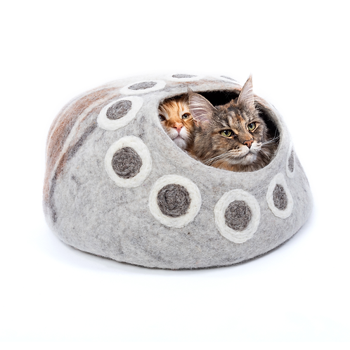 Condo for Two- Grey Cat Cave