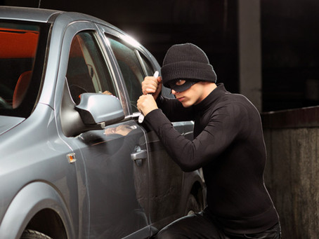 Auto Thefts On The Rise - Loss Control Measures to Keep Car Thieves Away