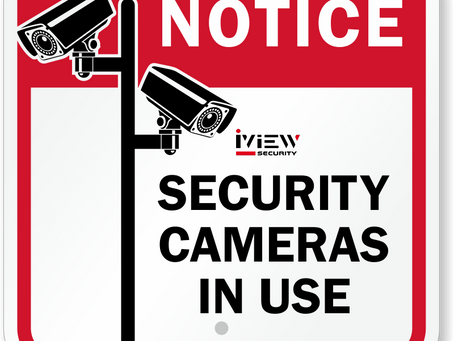 The law regarding audio & video recordings from a camera security system in Florida