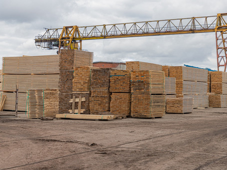 Construction sites have become attractive targets for thieves as lumber prices rise.