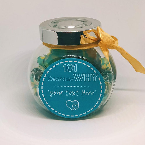 101 Reasons Jar - Personalized Jar