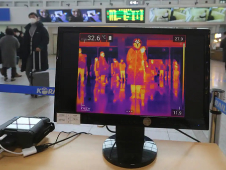 New Normal - Thermal Imaging Cameras Detecting Temperature