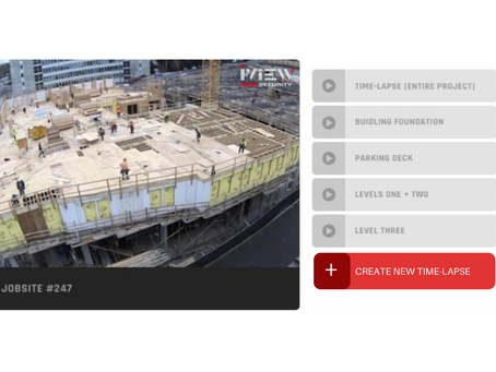 The main reason you should have a Time-lapse video system on your construction site.