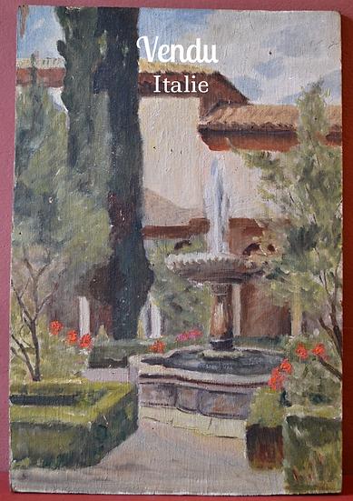 TOURTE Robert - La Fontaine - circa 1950