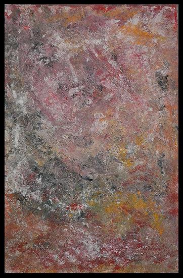 """Erwin STEINBACH """" Le fort des halles """" 115 x 75 cm - 2020"""