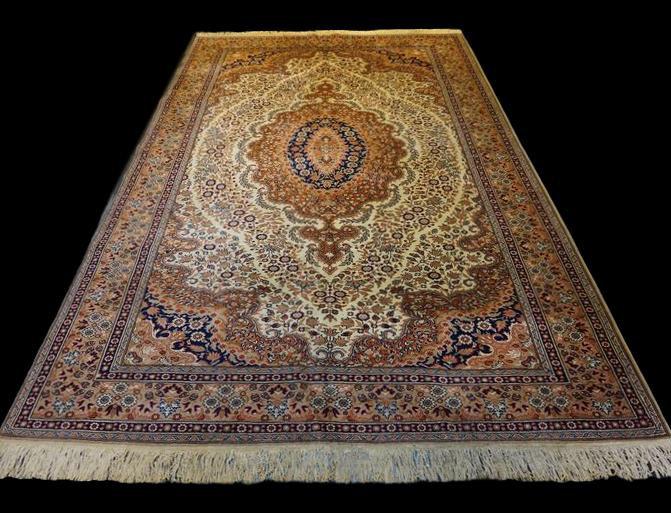 Tapis Kayseri, Turquie, 200 cm x 303 cm, laine , vers 1970 en parfait état