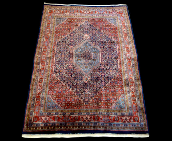 Tapis bidjar, 182 cm x 243 cm, Iran, laine nouée main, 1970,