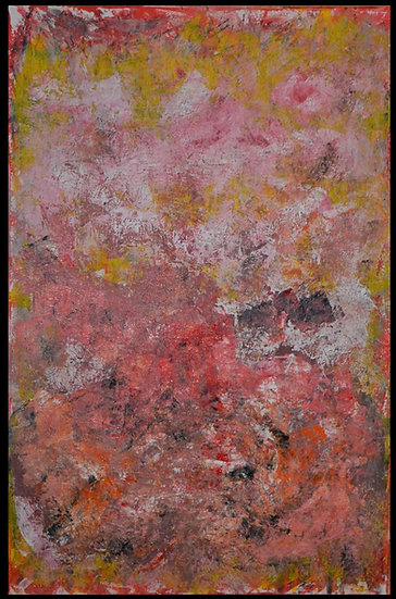 "Erwin STEINBACH "" Les Champs "" 115 x 75 cm"
