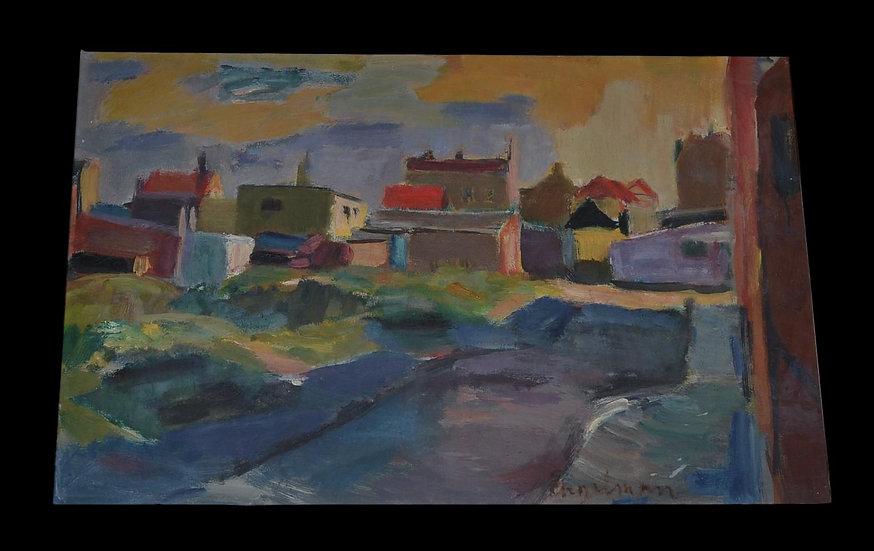"Hans ENGELMAN  (1922-2000) ,"" Provence"" ,1955"