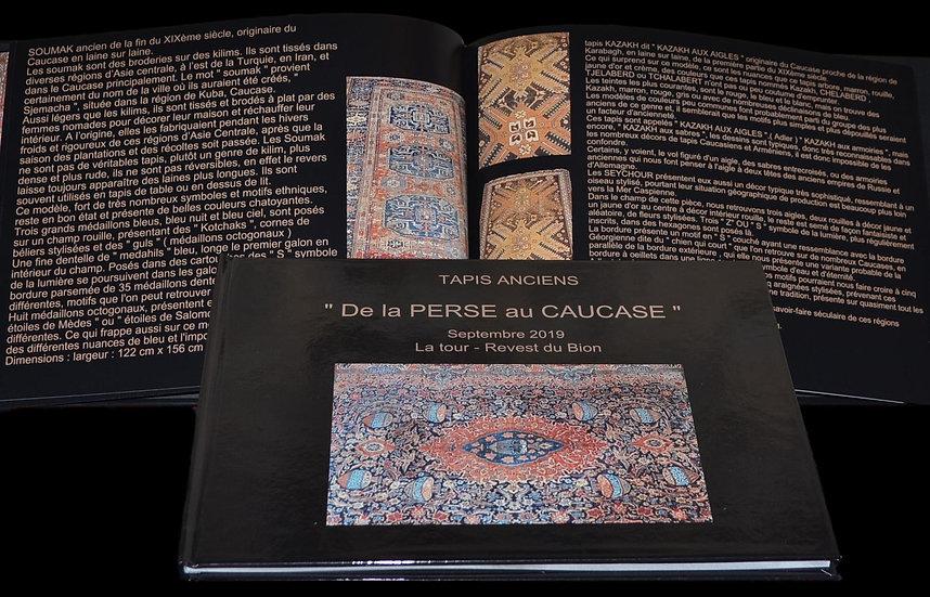"""Livre """" De la Perse au Caucase """" Septembre 2019, de Erwin STEINBACH"""