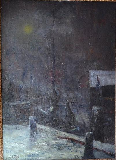 WOUTERS Karel (1892-1965) - Neige - circa 1943