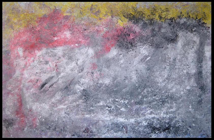 """Erwin STEINBACH, """" un matin comme j'aime """"  75 x 115 cm, 2019"""