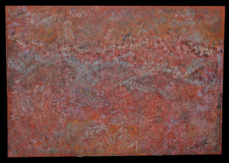 """Erwin STEINBACH ( 1964 - ) , """" Automne """" , technique mixte, 2018"""