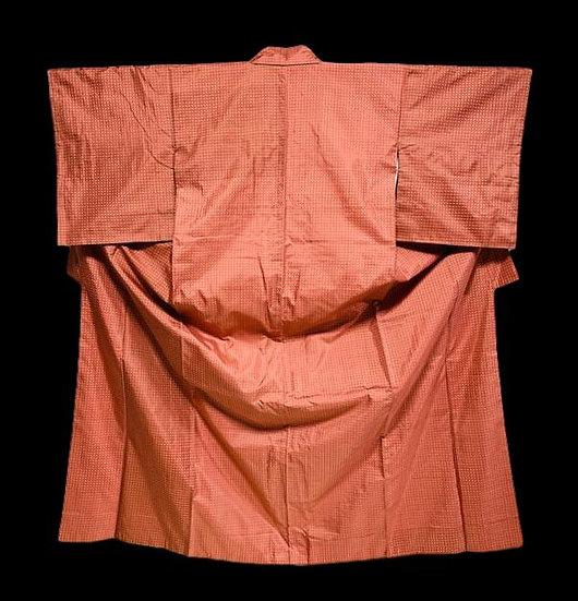 Kimono en soie naturelle, Japon, avant 1950