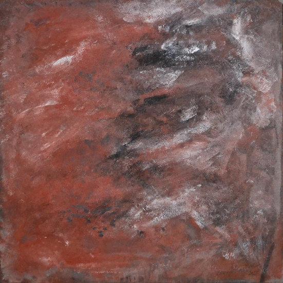 "Erwin STEINBACH "" L'automne "" 80 x 80 cm"