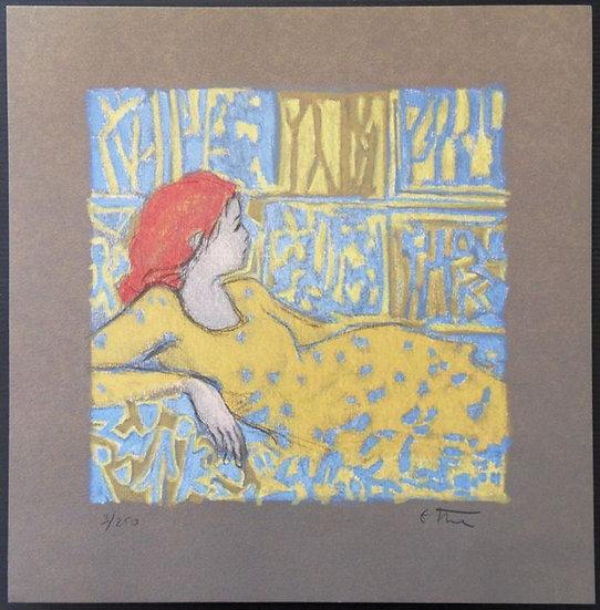 Robert STENNE (1931 - ?) , Hommage à Matisse