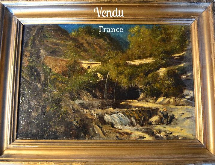 Paysage de Provence - L'Aiguier - circa 1860