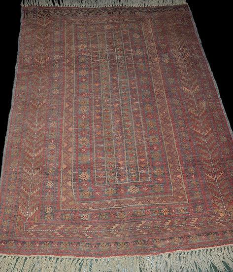 """""""Tapis du Caucase, 116 cm x 177 cm, laine sur laine, en parfait état vers 1950"""""""