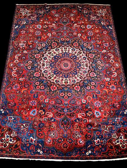 """Tapis Persan Macchad, 237 cm x 350 cm, laine kork, style maison de famille"""""""