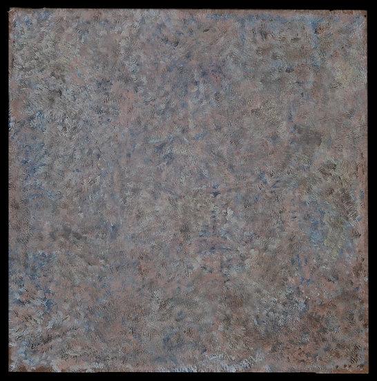"Erwin STEINBACH "" Bonjour Madame "" ou "" le Réveil "" 80 x 80 cm,  2019"