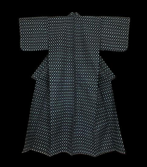 Kimono ancien, Ere Showa, vers 1950, en parfait état