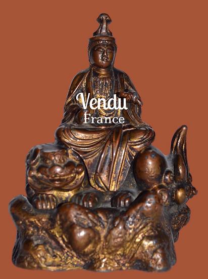 Bouddha en bronze, Asie - circa 1930