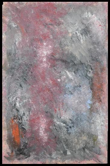 """Erwin STEINBACH """" sans titre """" 125 x 75 cm"""