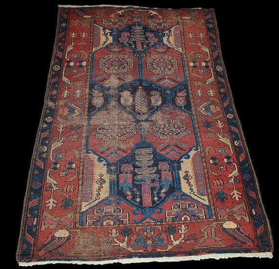 TAPIS CHIRVAN, Caucase, Azerbaïddjan, 100 x 157 cm, laine avant 1920