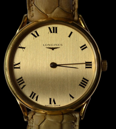 Montre Homme LONGINES - Or 18 K - Vers 1980