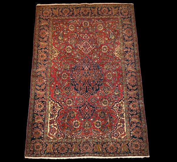 Tapis persan Kashan ancien, 150 cm x 223 cm, XIXème siècle