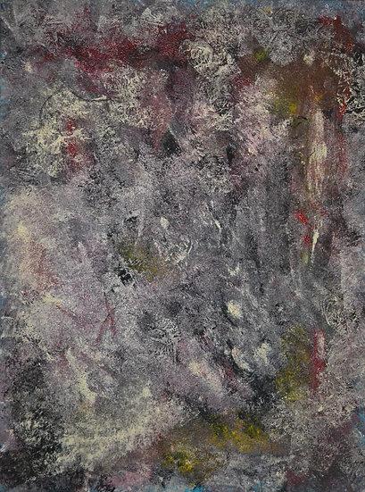 "Erwin STEINBACH, "" L'Archange Gabriel "" 80 x 60 cm"