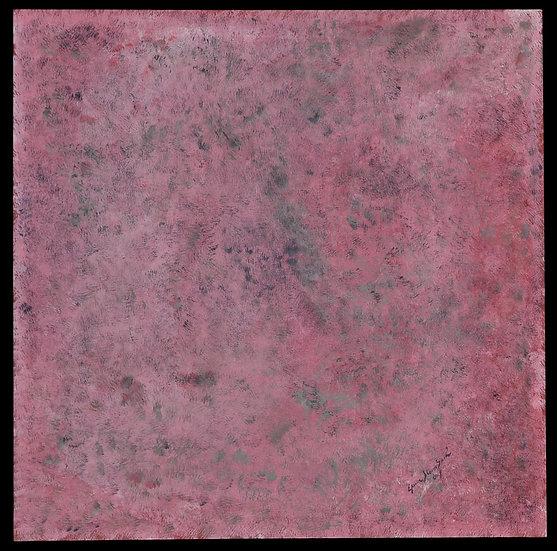 "Erwin STEINBACH "" Un jour d'Avril "" 90 cm x 90 cm, Avril 2019"