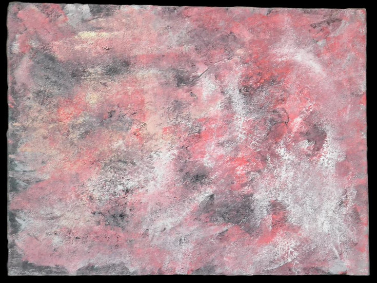 "Erwin STEINBACH "" Le perroquet rouge "" 60 x 80 cm"