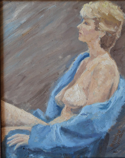 "Henri Maurice VANSTAEN  (1923 - ) , "" Mira "" ,1950"