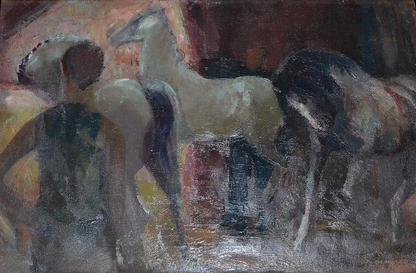 Els HEYTING-POSTHUMUS (1918 - 1992) , Le Cirque , 1960