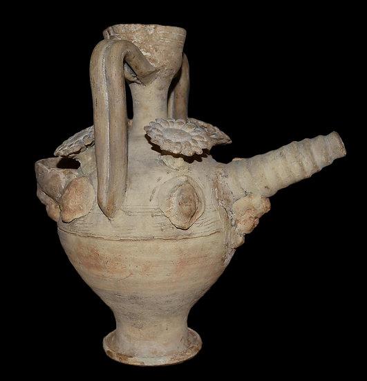 Gargoulette en terre cuite, Provence, France, XVII ème Siècle