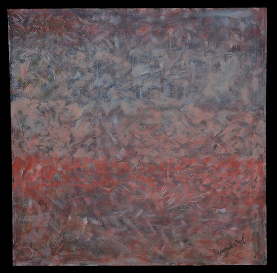 """Erwin STEINBACH ,"""" Vol d'étourneaux dans le ciel du Revest """" , 2017"""