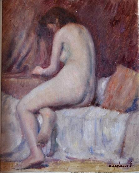 E. L. NICCOLAÏ , Nu Assis , circa 1930