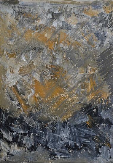 GRAUBER Hans (1946 - 2000)  - Sans Titre - circa 1988