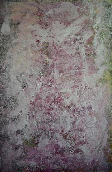"""Erwin STEINBACH """" les azalées japonaises """" 2020, 115 x 75 cm"""