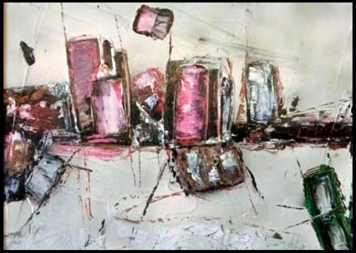 """Giorgio FLIS (1941) - """"Paesaggio"""""""