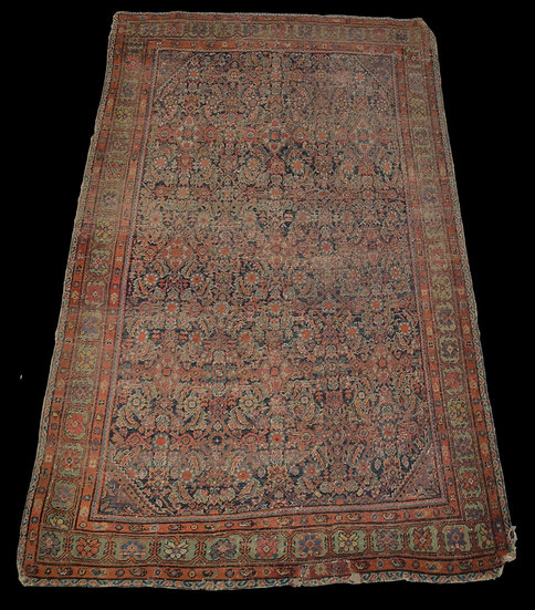 Tapis Persan Feraghan Ancien, 129 cm x 186 cm, Iran, fin du XVIIIème Siècle