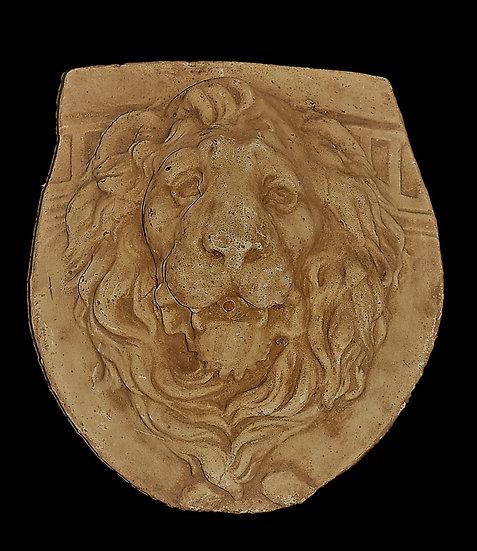 Tête de Lion en ciment - circa 1900
