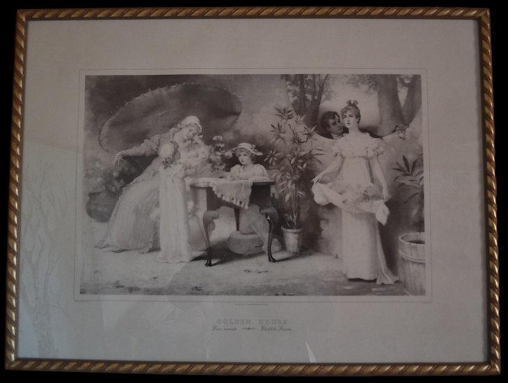 Maud GOODMAN , Gravure d'après un tableau de , circa 1894