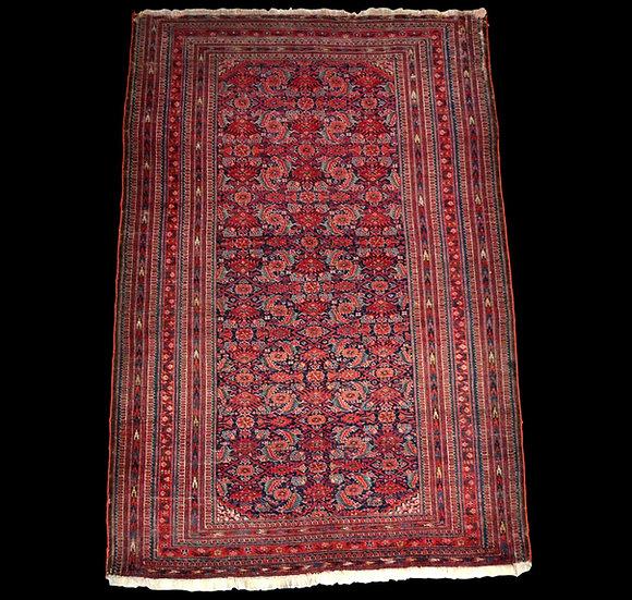 """""""Tapis guérat Béchir, région de l'Amou-Daria, 111x 170 cm, laine Turkménistan, d"""