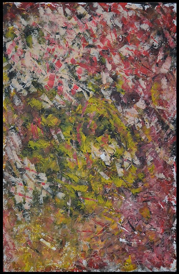 """Erwin STEINBACH """" Le jardin secret """" 115 x 75 cm - Septembre 2020"""