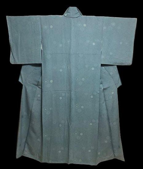 Kimono YUKATA, en soie, Japon, vers 1950, parfait état