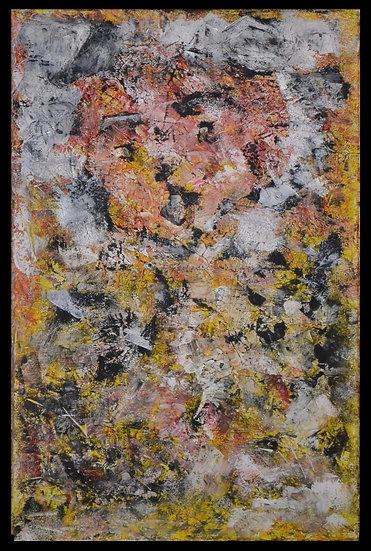"""Erwin STEINBACH """" Tomou """" ou """" Mecki """" 115 x 75 cm - 2020"""